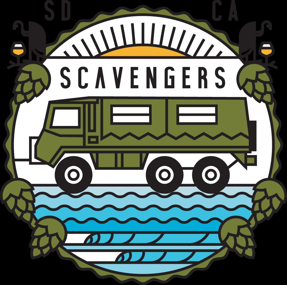 Image result for scavengers beer tours logo